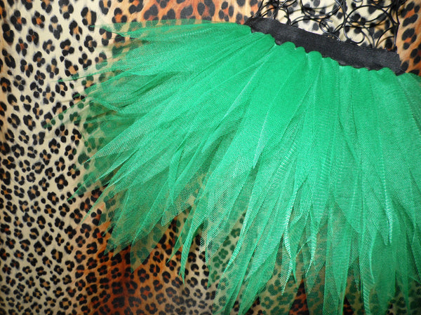 Plus Size Fern Fairy Tutu