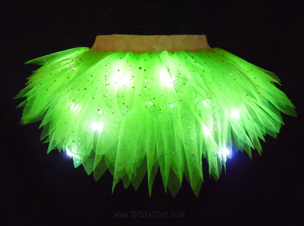Girls Light Up Tinkerbell Tutu