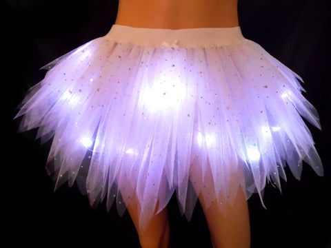 Girls Light Up Angel Tutu