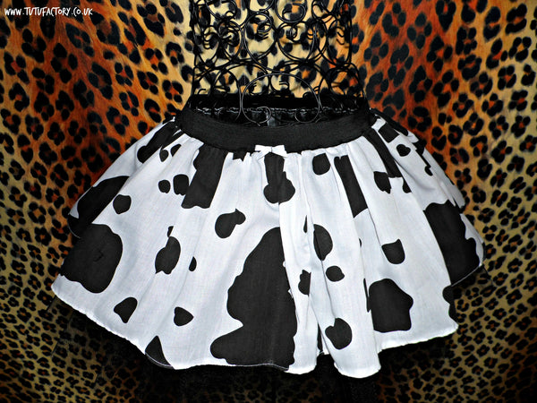 Plus Size Animal Print Tutu