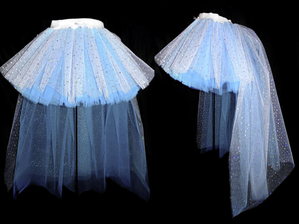 Deluxe Girls Elsa Sparkle High&Low Tutu