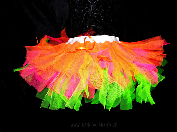 Plus Size Candy Rave Tutu