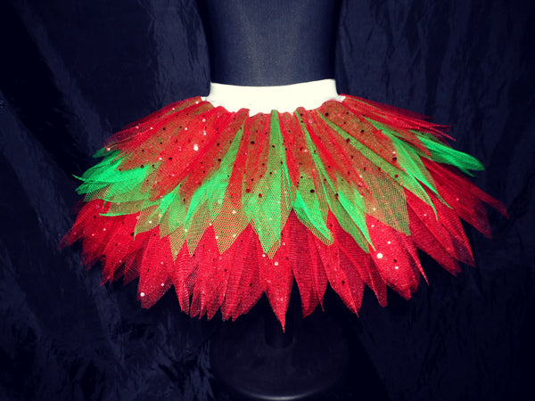 Girls Christmas Fairy Tutu