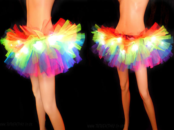 Rainbow Lights Light Up Tutu