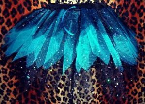 Plus Size Dark Sparkle Fairy Tutu