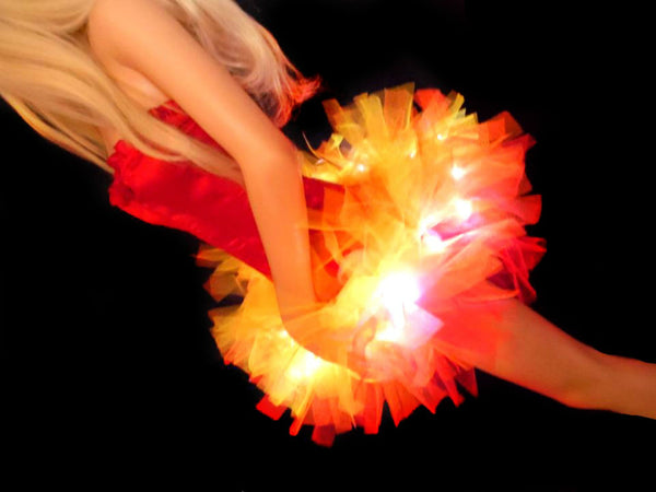 Girl On Fire Light Up Tutu