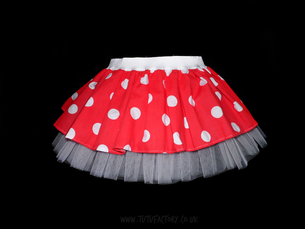 Minnie Mouse Tutu (with or without net showing)
