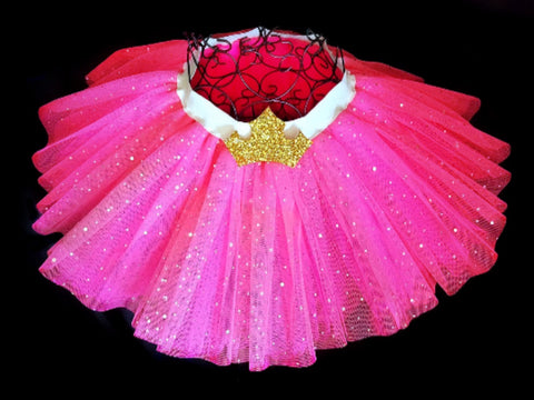 Girls Pink Sleeping Beauty Tutu