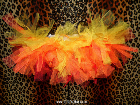 Girls Inferno Tutu