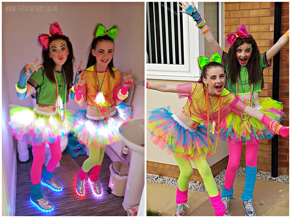 Girls Neon Lights Tutu