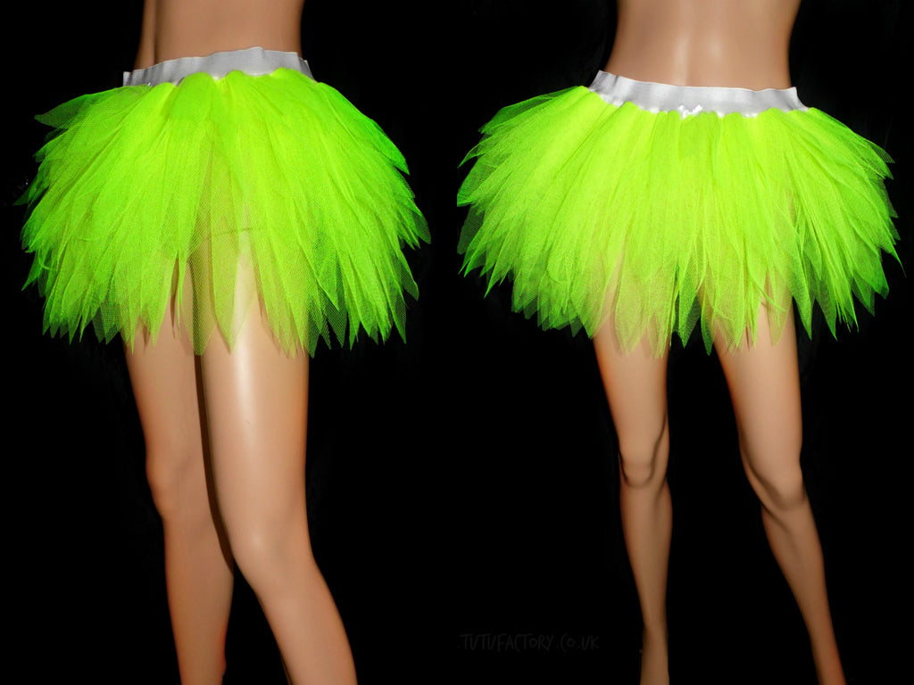 Girls Spikey Neon Edge Dance Tutu
