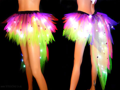 Deluxe Light Up Stardust Tutu with train