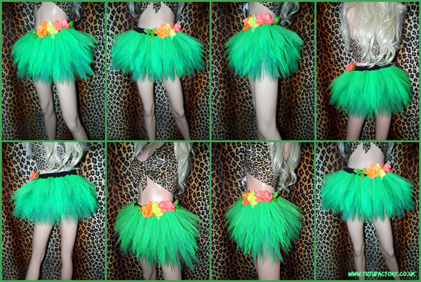 Jungle Queen Katy Perry Tutu Set (Crop Top)