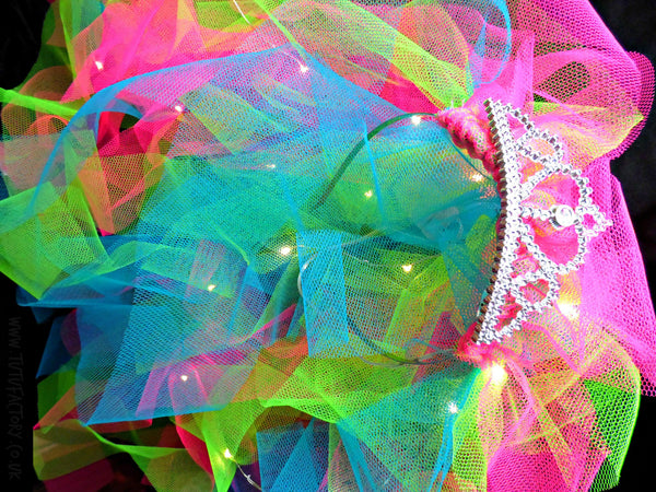Design Your Own Neon Lights Hen Night Veil