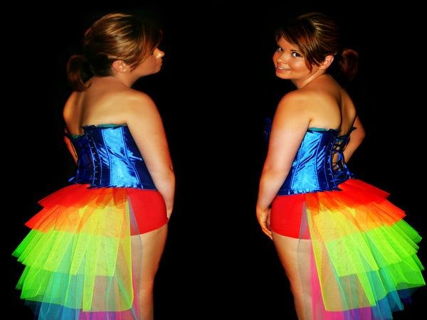 Rainbow Rush Bustle Tutu