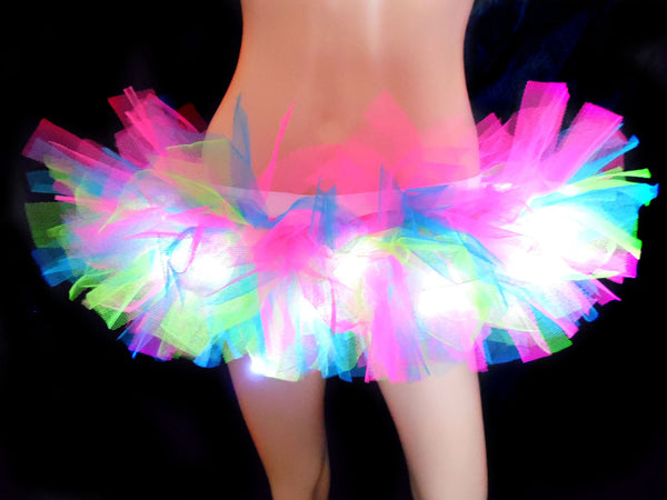 Neon Lights Light Up Tutu