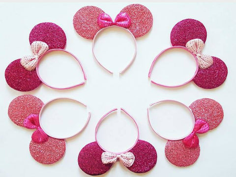 SALE Pink Minnie Mouse Ears