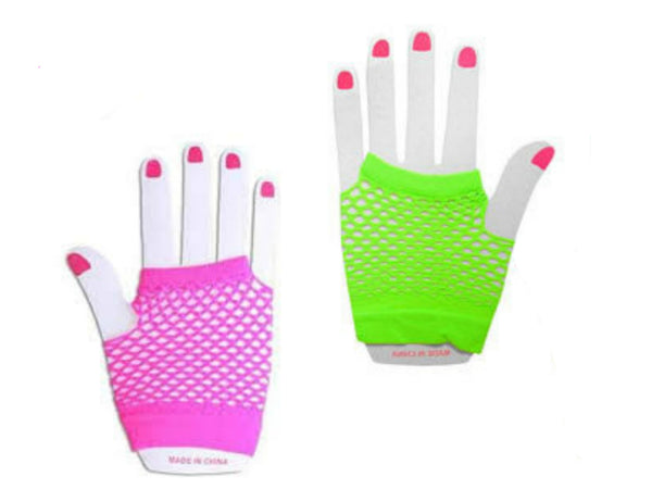 Mixer Fishnet Gloves