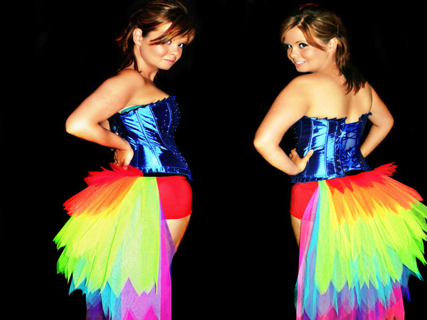 Rainbow's End Bustle Tutu