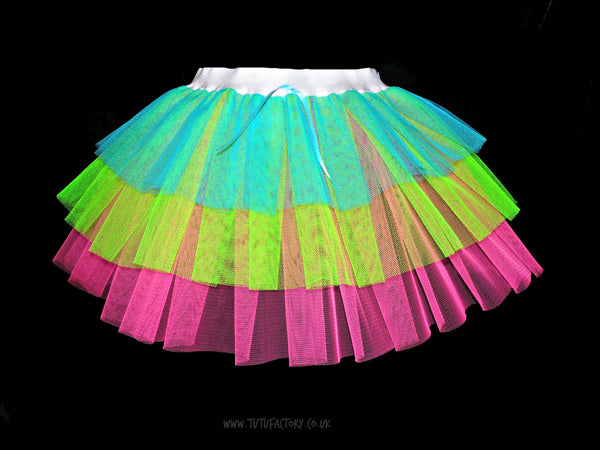 Plus Size Triple Neon Tutu