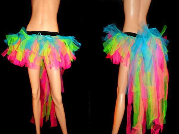 Candy Rave Tutu with Bustle