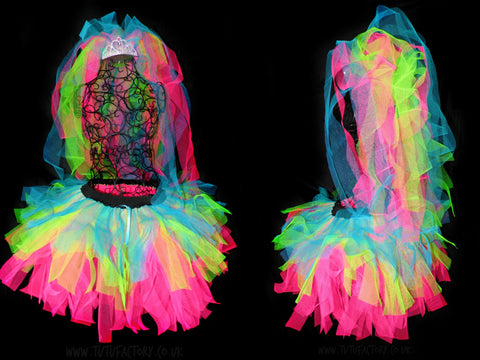 Candy Bride Tutu Set