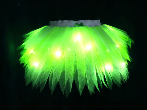 Light Up Tinkerbell Tutu (Plain Net)