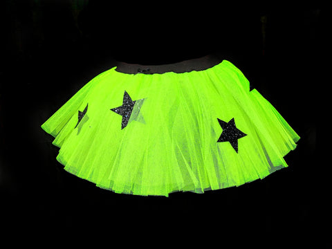 "Ready To Ship Dark Magic Halloween Tutu (REG 10"" long)"