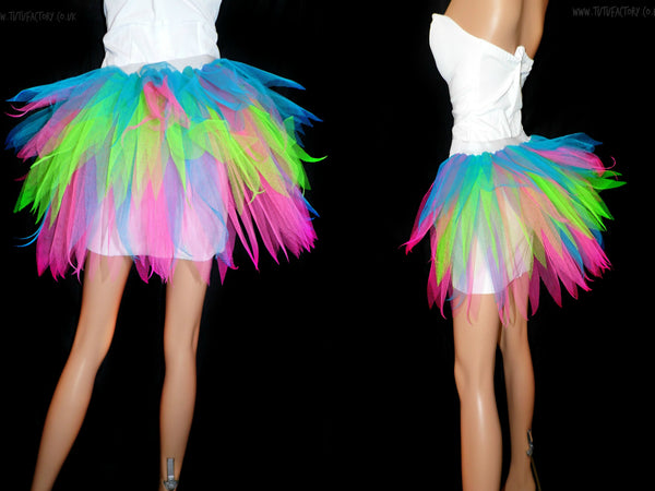 Neon Techno Bustle Tutu