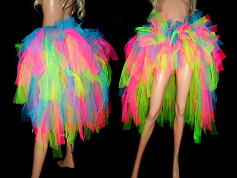 Neon Wave High and Low Tutu