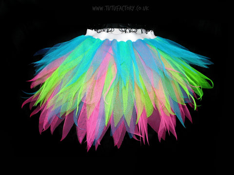 Girls Spikey Neon Vibe Tutu