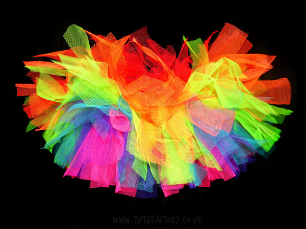 Girls Rainbow Explosion Tutu