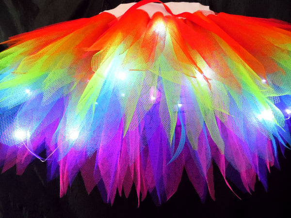 Magical Rainbow Light Up Tutu