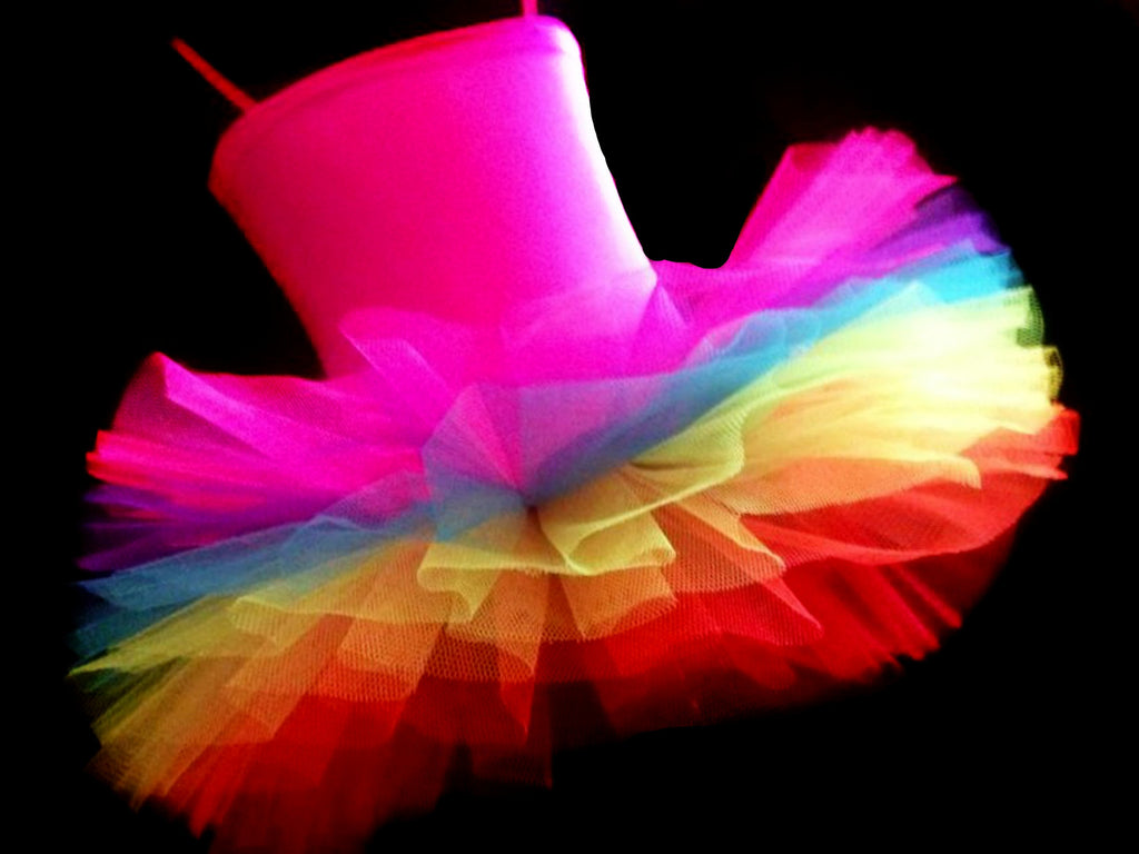 Girls Rainbow Brite Tutu