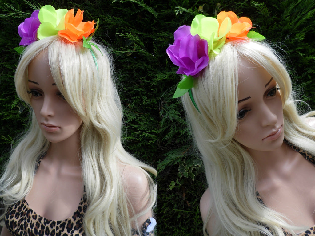Roar Flower Headband