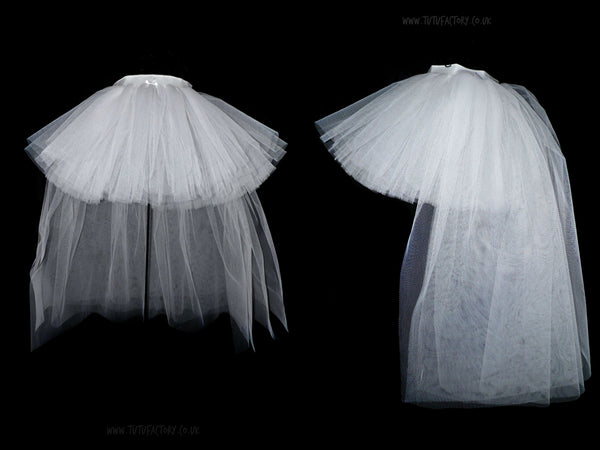 Girls Deluxe Ice Princess High&Low Tutu (4 layers)