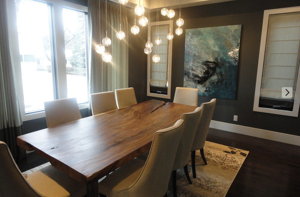 Calgary dining room interior design