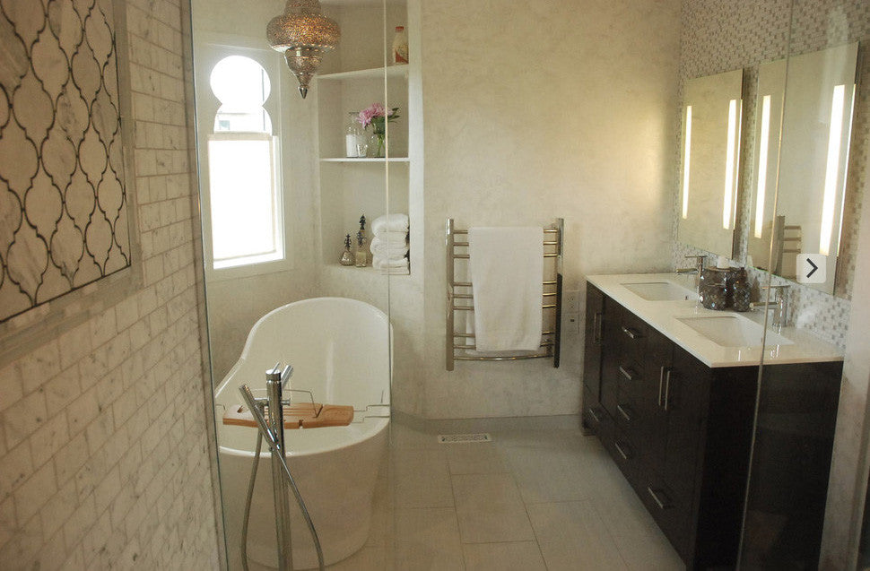 Calgary bathroom renovation interior designer