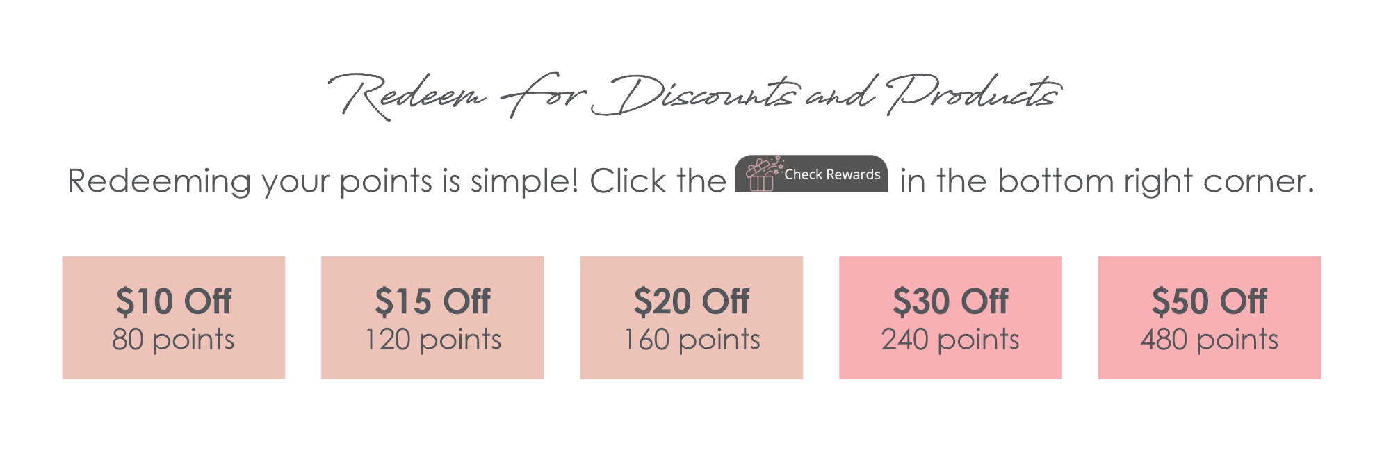 Manna Babe Rewards  - Redeem For Discounts and Products