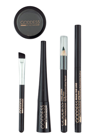 5 Piece Eyeliner Collection Manna Kadar