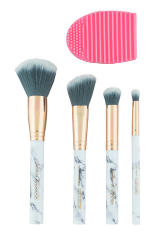 4 Piece Brush Set + Mitt (Goddess) Manna Kadar