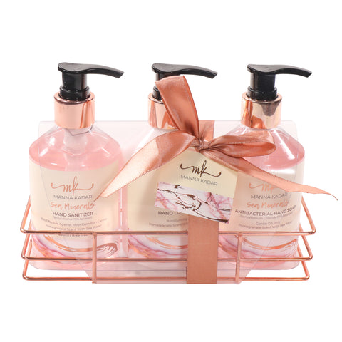 Anti-Bacterial Hand Sanitizer, Soap & Lotion Caddy