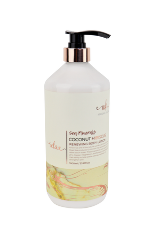 Sea Minerals Body Lotion  Coconut Hibiscus