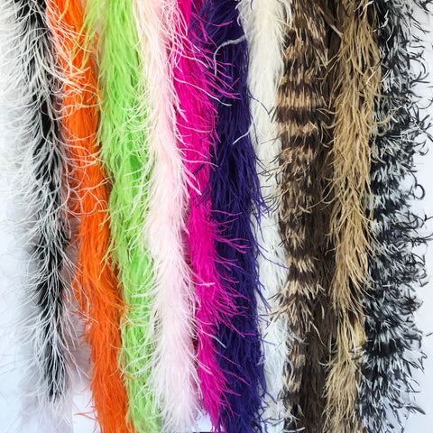 2 Ply Ostrich Feather Boas
