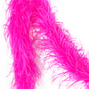 Hot Pink 2 Ply Ultra Ostrich Feather Boas