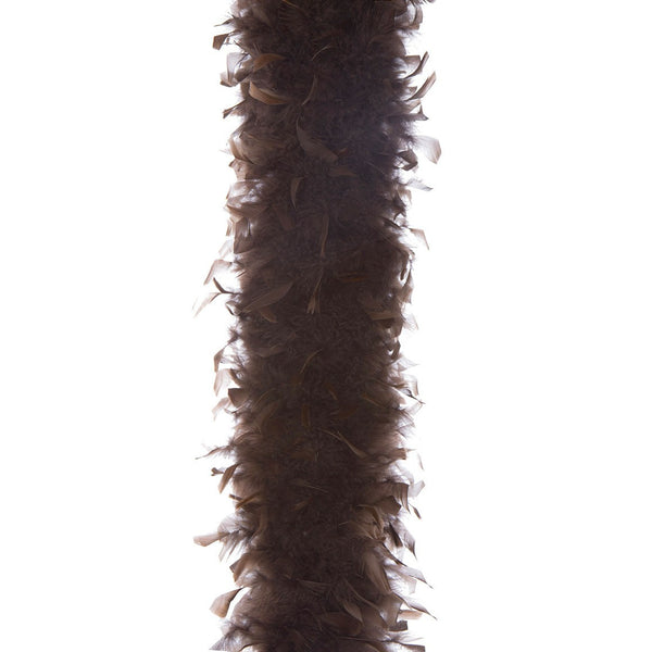 Brown 65 Gram Chandelle Feather Boa