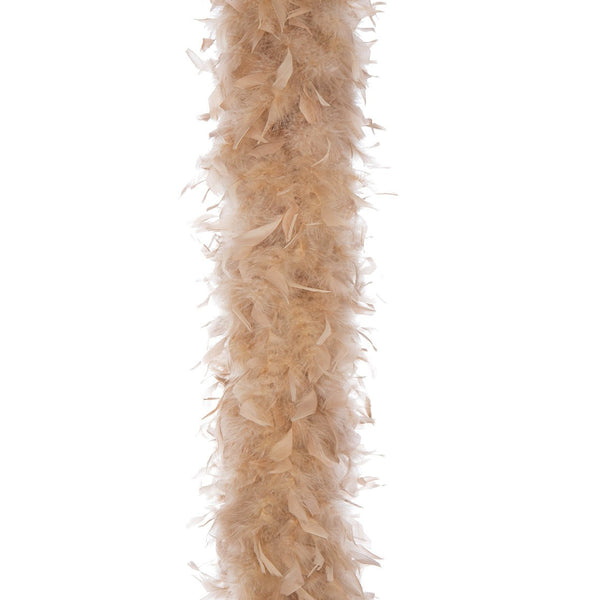 Camel 65 Gram Chandelle Feather Boa