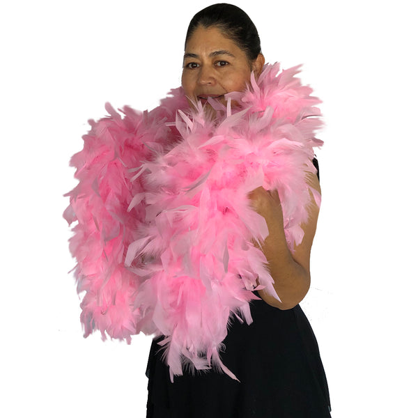 Candy Pink 120 Gram Chandelle Feather Boa