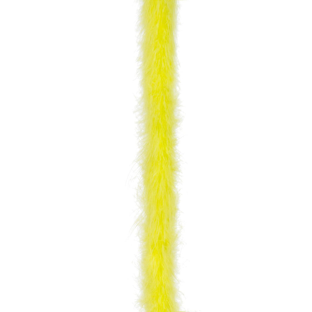 Chartreuse 15 Gram Marabou Feather Boa