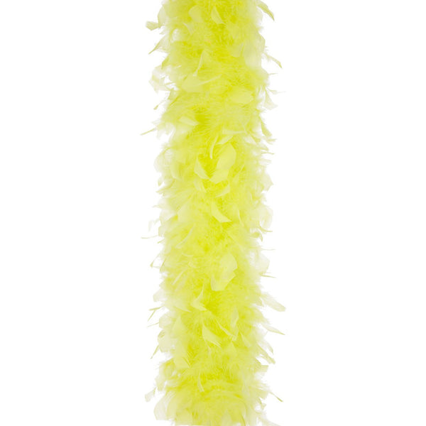Chartreuse 40 Gram Chandelle Feather Boa